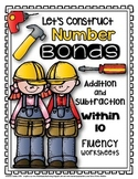 Let's Construct Number Bonds: Addition and Subtraction Facts within 10