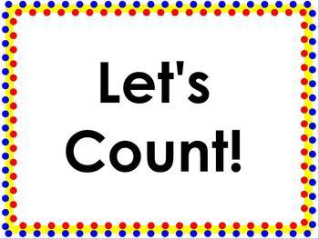 Let's Count! ACTIVboard Flipchart