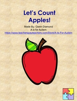 Let's Count Apples!  Interactive Reader