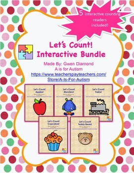 Let's Count!  Interactive Reader Bundle