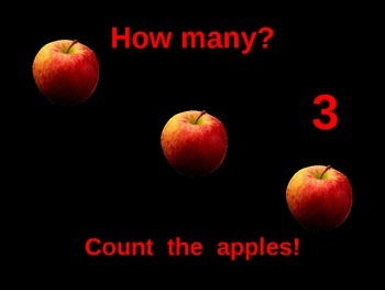 Let's Count Apples PowerPoint