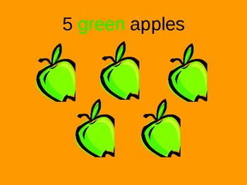 Let's Count Apples Interactive PowerPoint