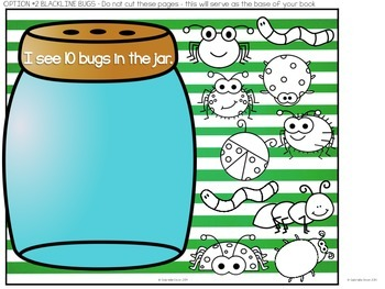 Let's Count! Bugs in a Jar Adapted Book