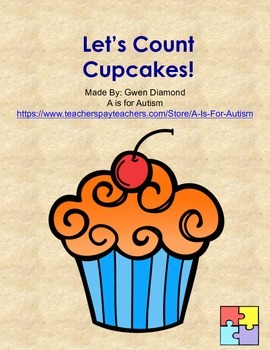 Let's Count Cupcakes!  Interactive Reader