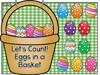 Let's Count! Eggs in a Basket Adapted Book