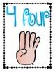 Let's Count Finger Cards!