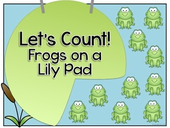 Let's Count! Frogs on a Lily Pad Adapted Book