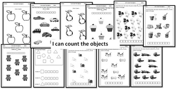 Let's Count From 1 to 10 Activity