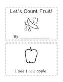 Let's Count Fruit Mini Book