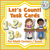 Counting 1-20 Task Cards and Math Games