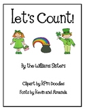 Let's Count Numeral Cards for St. Patrick's Day