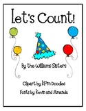 Let's Count Numeral Cards for the 100th Day