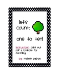 Let's Count: One to Ten! (Apple Edition)