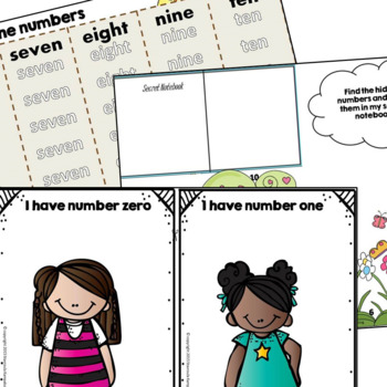 Let's Count Bundle - Numbers 1-20