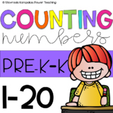 Let's Count Packet - Numbers 1-20
