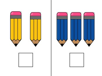 Let's Count Pencils!  Adapted Book