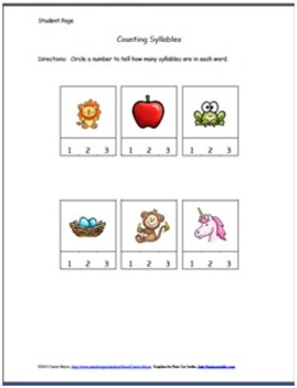 Let's Count Syllables!