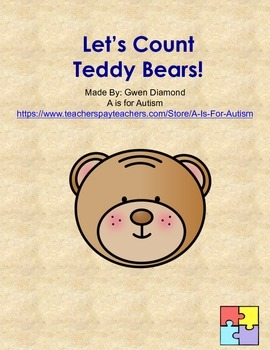 Let's Count Teddy Bears!  Interactive Reader