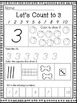 Let's Count to 20- Kindergarten Math (D'Nealian)