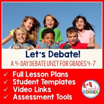 Let's Debate:  A Mini-Unit for Classroom Debates
