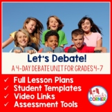 Classroom Debate Unit for Grades 4-7