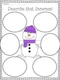 Let's Describe a  Snowman!