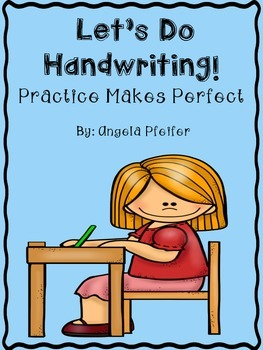 Let's Do Handwriting- Practice Makes Perfect
