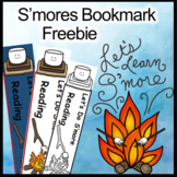 Camping Theme, S'mores Theme Activities Bookmarks (Free) For Your Forest Unit
