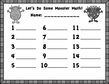 Let's Do Some Monster Math