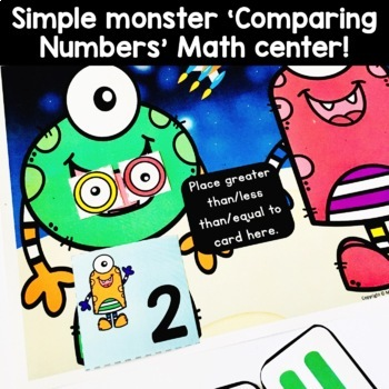 Let's Do The Monster Math - Greater Than, Less Than, Equal (KCC6, KCC7)