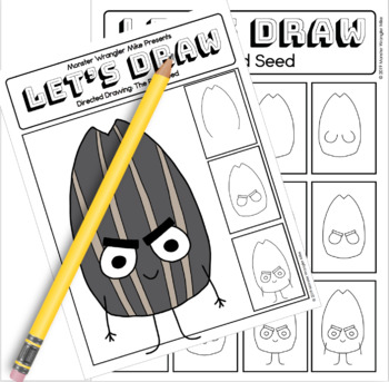 Lets Draw: Directed Drawing - The Good Egg & The Bad Seed