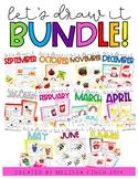 Lets Draw It- MONTHLY BUNDLE