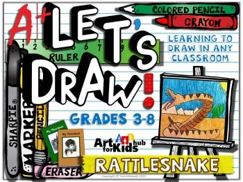 Let's Draw a Rattlesnake