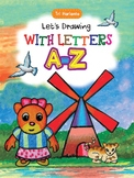 Lets Drawing with letter A-Z | Drawing and Coloring