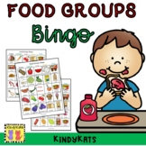 Food Groups Bingo, Nutrition