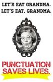 Let's Eat Grandma- Funny Grammar Poster for Classroom