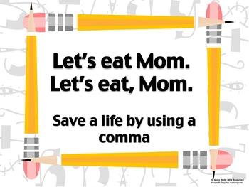 Let's Eat… Mom! Grammar