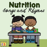 Nutrition Songs & Rhymes: Food Groups, Healthy Eating, My Plate, Circle Time