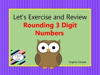 Rounding 3 Digit Numbers to the Nearest 10 and 100
