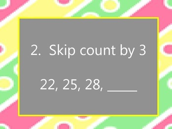 Skip Counting with Two-Digit Numbers