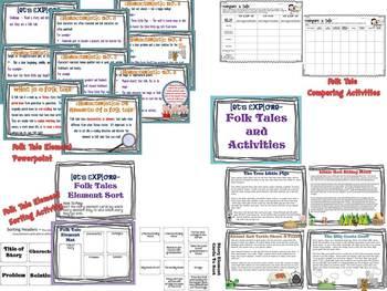 Let's Explore Folk Tale Elements And Stories
