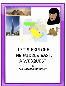 Middle East Map Activities.Middle East Let S Explore The Middle East Webquest Extension