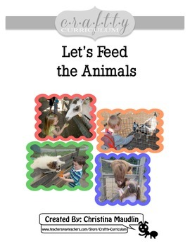 Let's Feed the Animals! (Interactive Book)