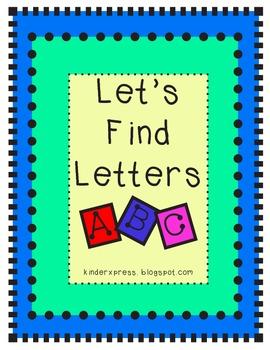 Let's Find Letters