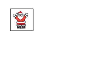 Let's Find Santa- Sight word game