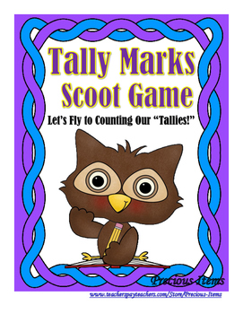 "Let's Fly to Counting Our ""Tallies"" Owl Scoot!"