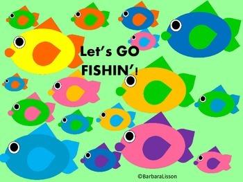 Let's GO FISHIN'! Fun Fishy Clip Art