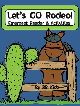 Let's GO Rodeo! {Emergent Reader and Activities}