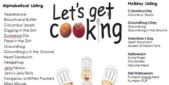 Let's Get Cooking, Hands-On Learning
