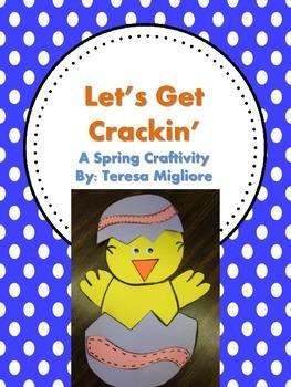 Let's Get Cracking  (Spring Craftivity) Chick Craft